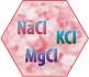 Минеральная смесь NaCl KCl MgCl